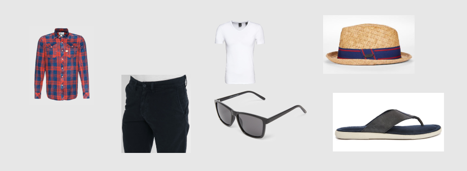 Hipster Style Strandoutfit 1
