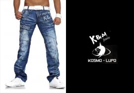 Kosmo Lupo Jeans und Logo