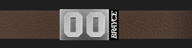 Lederarmband Brayce