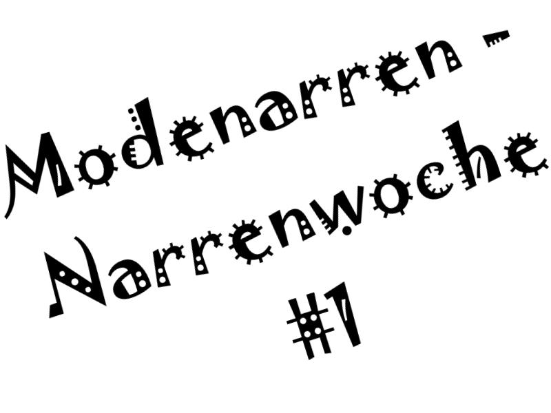 Narrenwoche 1