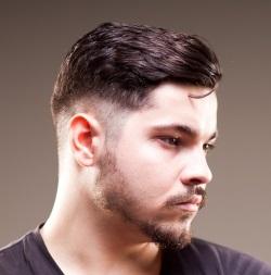 Männer Frisuren Undercut abgestuft