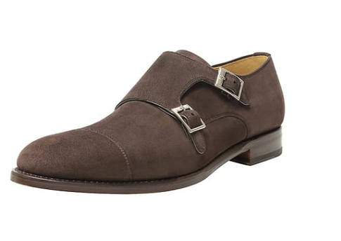 Monks SHOEPASSION Business-Slipper dunkelbraun