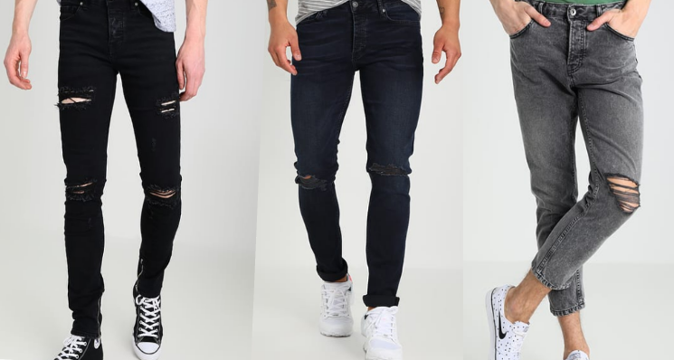 Slim Fit Jeans Collage