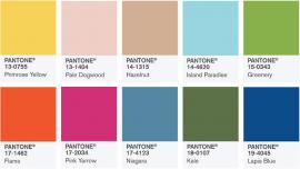 Trendfarben Frühjahr 2017 - PANTONE Fashion Color Report Spring 2017