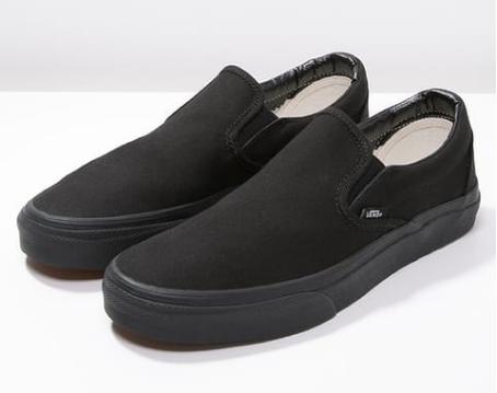 Slip Ons Vans CLASSIC - Sneaker low black