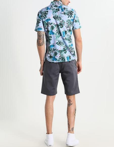 Hemd und Shorts, Sommeroutfit